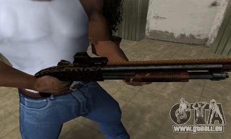 Leopard Shotgun für GTA San Andreas