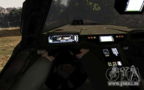 UNSC-M12 warthog aus Halo Reach für GTA 4 rechte Ansicht