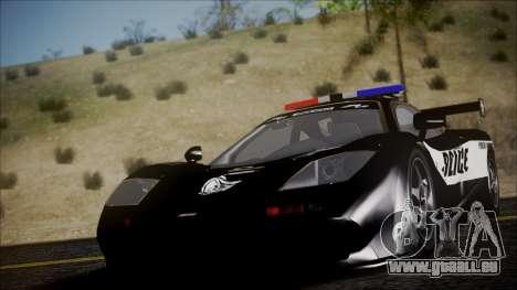 NFS Rivals McLaren F1 LM pour GTA San Andreas vue de droite