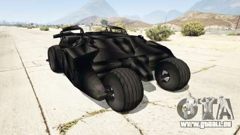 Batmobile v0.1 [alpha] für GTA 5
