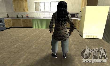 Cool Tokio Girl pour GTA San Andreas troisième écran
