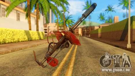 Atmosphere Flame Thrower für GTA San Andreas zweiten Screenshot