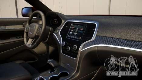 Jeep Grand Cherokee SRT8 2015 v1.0 für GTA 4 Rückansicht