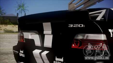 BMW M3 E36 GT-Shop für GTA San Andreas rechten Ansicht