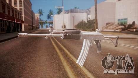 Galil AR v2 from Battlefield Hardline für GTA San Andreas