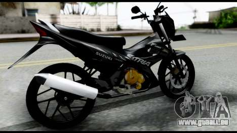 Satria FU Dark Fighter Predator für GTA San Andreas linke Ansicht