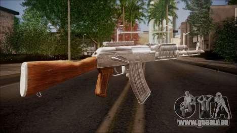 AK-47 v2 from Battlefield Hardline für GTA San Andreas zweiten Screenshot