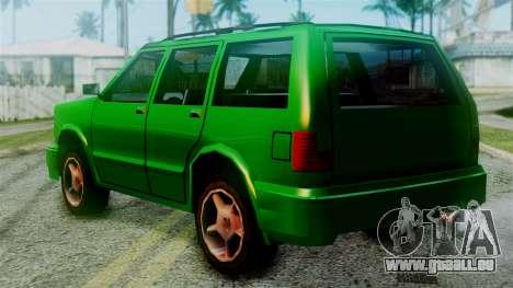 Landstalker New Edition für GTA San Andreas linke Ansicht