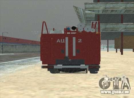 Oural 375 Pompier pour GTA San Andreas vue de droite