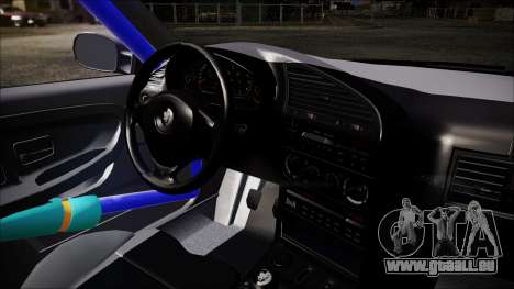 BMW M3 E36 Drift pour GTA San Andreas vue de droite