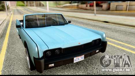 GTA 5 Vapid Chino Stock pour GTA San Andreas