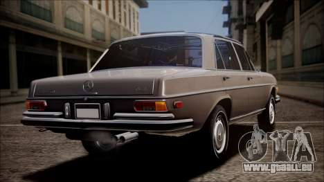 Mercedes-Benz 300 SEL 6.3 pour GTA San Andreas laissé vue