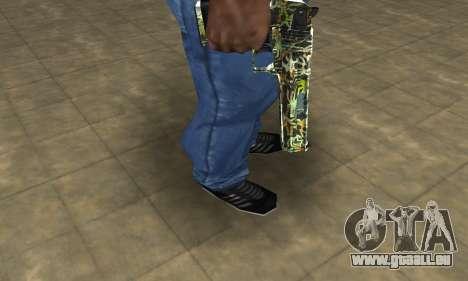 Lable Deagle für GTA San Andreas zweiten Screenshot