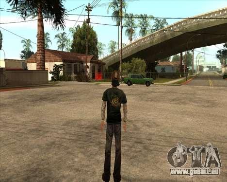 Kenny from Walking Dead pour GTA San Andreas deuxième écran