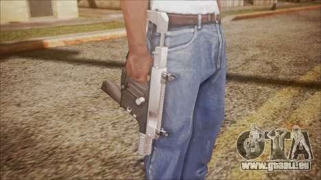K10 from Battlefield Hardline pour GTA San Andreas troisième écran