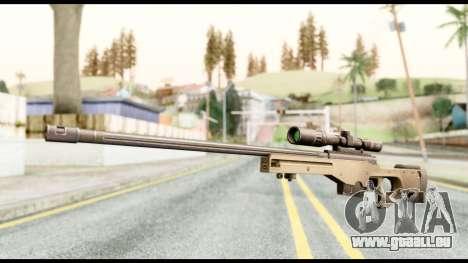 AWM L115A1 pour GTA San Andreas