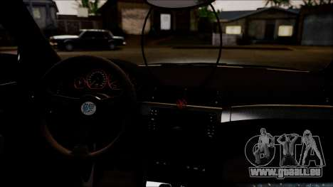 BMW 325t E46 LCI SAO Itasha pour GTA San Andreas vue arrière
