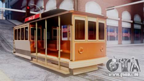 New Tram pour GTA San Andreas
