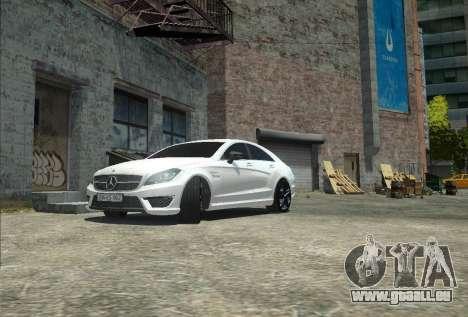 Mercedes-Benz CLS 63 AMG pour GTA 4 Vue arrière