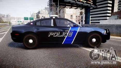 Dodge Charger 2014 LCPD [ELS] pour GTA 4 est une gauche