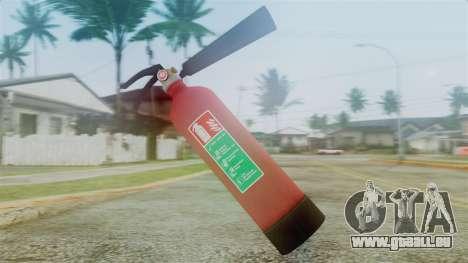 Fire Extinguisher from GTA 5 pour GTA San Andreas deuxième écran
