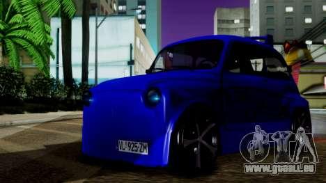 Zastava 750 Tuning pour GTA San Andreas