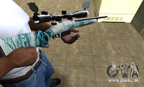 Mini Water Time Sniper Rifle für GTA San Andreas
