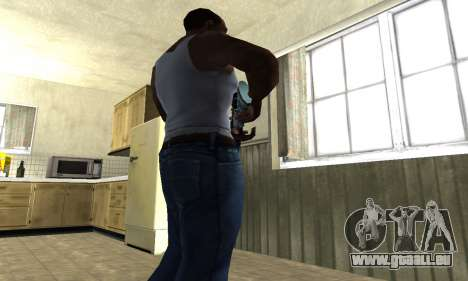 Mini Water Time Sniper Rifle für GTA San Andreas dritten Screenshot