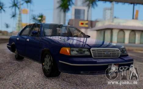 Ford Crown Victoria Civillian pour GTA San Andreas