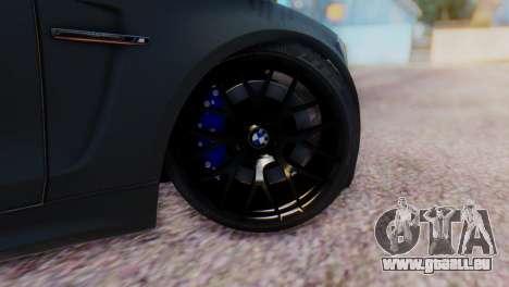 BMW M1 Tuned pour GTA San Andreas sur la vue arrière gauche