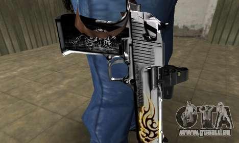 Flame Deagle für GTA San Andreas zweiten Screenshot
