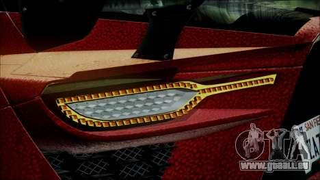 Bertone Mantide 2010 für GTA San Andreas Rückansicht