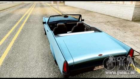 GTA 5 Vapid Chino Stock für GTA San Andreas linke Ansicht