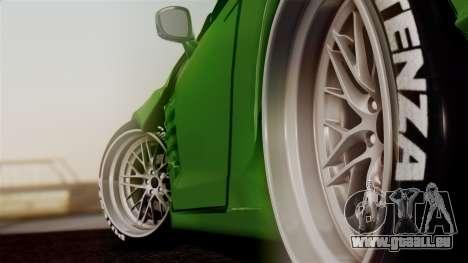 Nissan GT-R R35 Bensopra 2013 pour GTA San Andreas sur la vue arrière gauche