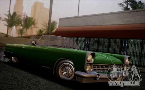 GTA 5 Vapid Peyote IVF pour GTA San Andreas vue arrière
