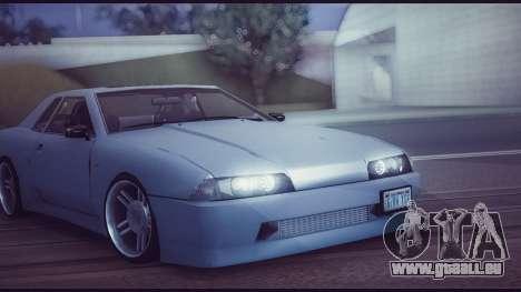 Elegy Lumus pour GTA San Andreas vue arrière