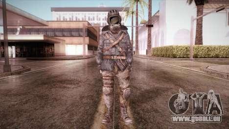 Paul v2 pour GTA San Andreas deuxième écran