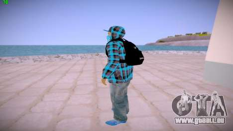 Latinos pour GTA San Andreas troisième écran