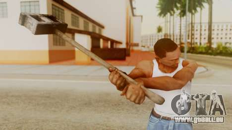 Bogeyman Hammer from Silent Hill Downpour v2 für GTA San Andreas dritten Screenshot