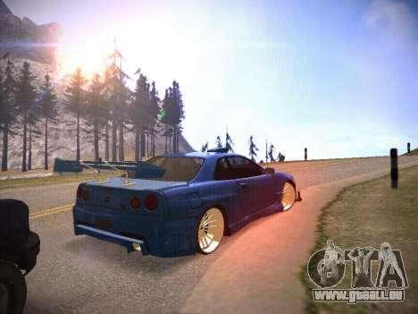 T.0 Secret Enb pour GTA San Andreas troisième écran