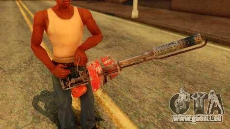 Atmosphere Flame Thrower für GTA San Andreas dritten Screenshot