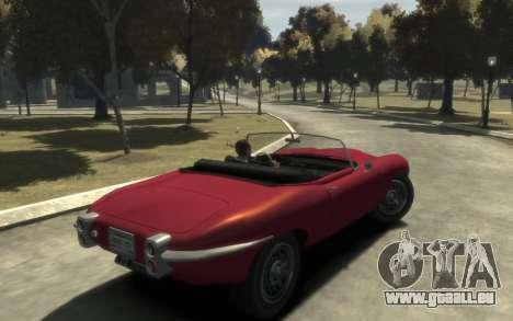 Enus Windsor Classic pour GTA 4 Vue arrière de la gauche