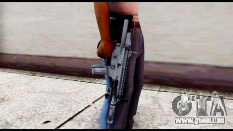 MK16 PDW Standart Quality v1 pour GTA San Andreas troisième écran