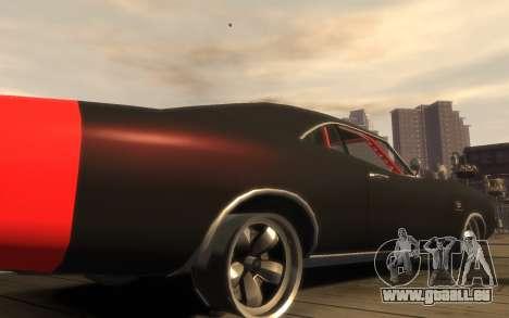 Dukes Impulse Daytona Tuning pour GTA 4 est une vue de l'intérieur
