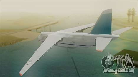 Antonov 124 Russian Airforce für GTA San Andreas linke Ansicht