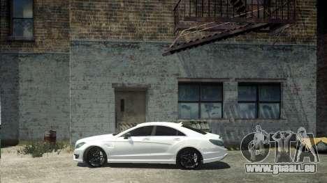 Mercedes-Benz CLS 63 AMG pour GTA 4 Vue arrière de la gauche