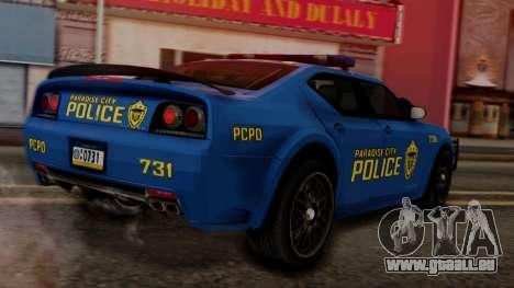 Hunter Citizen v2 IVF pour GTA San Andreas laissé vue