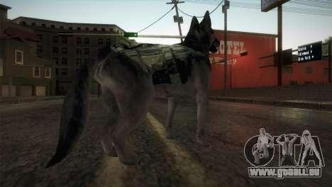 COD Ghosts - Riley Skin pour GTA San Andreas troisième écran