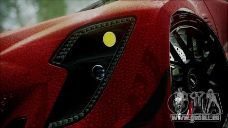 Bertone Mantide 2010 pour GTA San Andreas vue de droite
