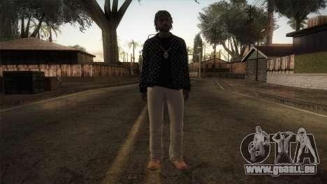 Skin from GTA 5 für GTA San Andreas zweiten Screenshot